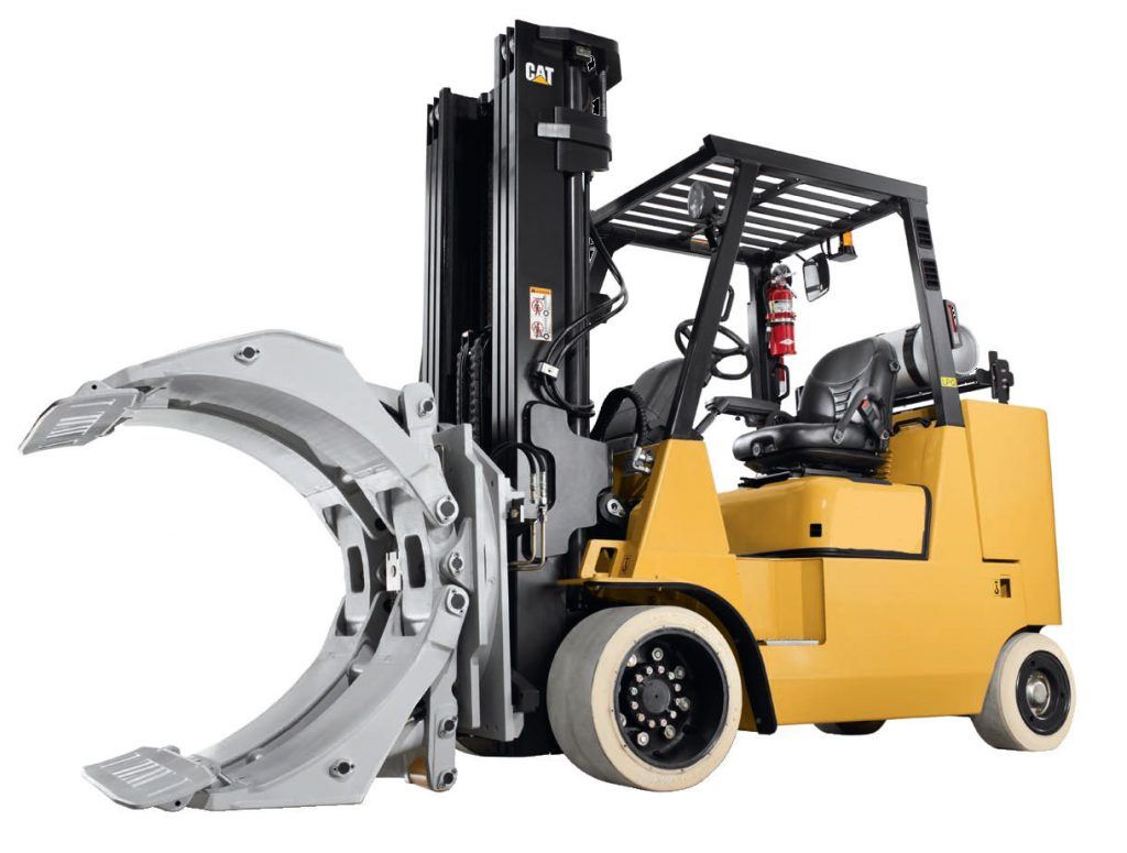 Forklift Lifting Attachments : Forklift paper roll clamp attachment « forklifts in cyprus