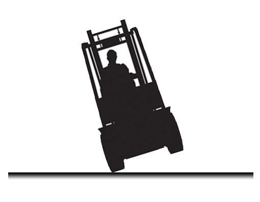forklift-no-turn-on-slope